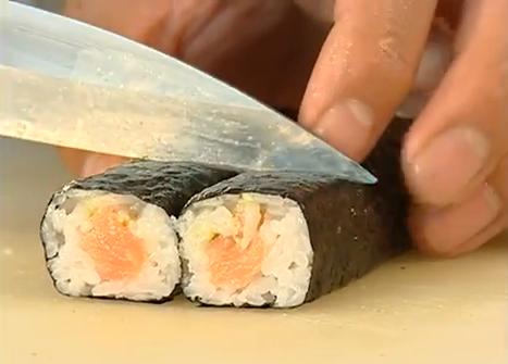 Sushi schneiden