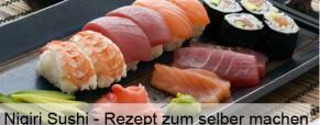 Nigiri Sushi – Rezept zum selber machen